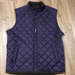 Peter Millar Diamond Quilted Vest NWT Size L